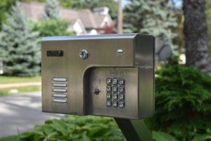 Stainless Steel Cladded Intercom Box