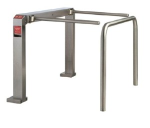 Entech Stainless Steel Security Gate with Side Rail