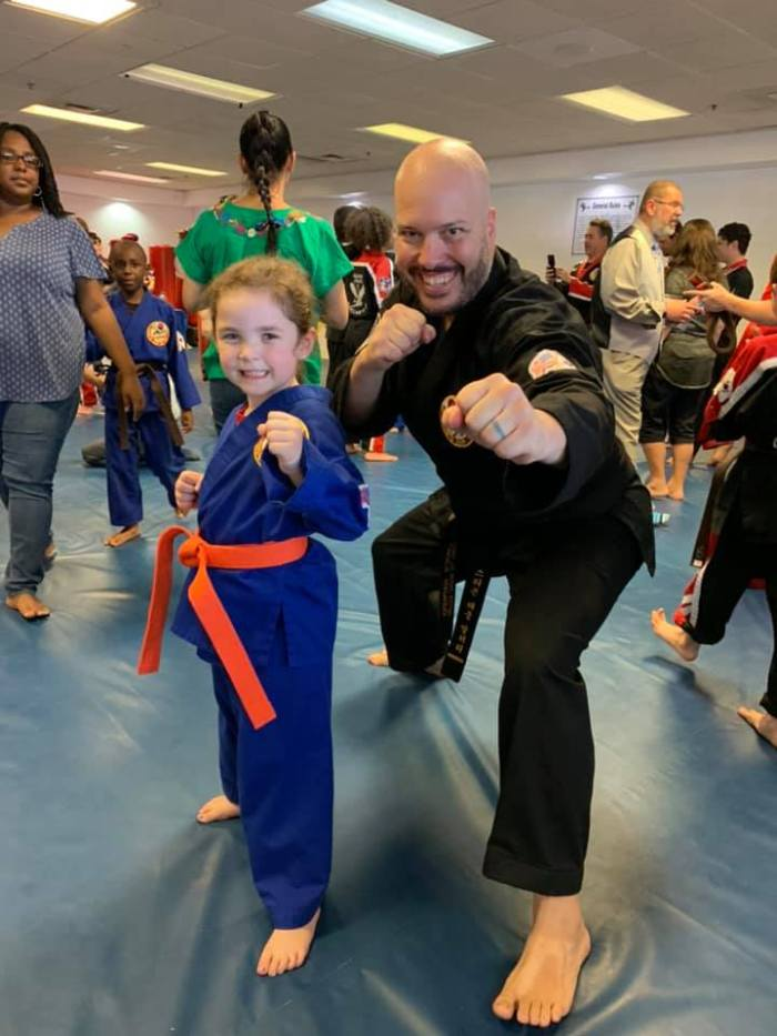 Instructor Stephen Mallory at Choe's HapKiDo Flowery Branch Georgia