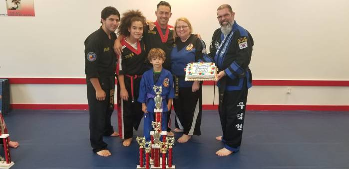 Celebrating Summer Championship Success at Choe's HapKiDo Flowery Branch Georgia!