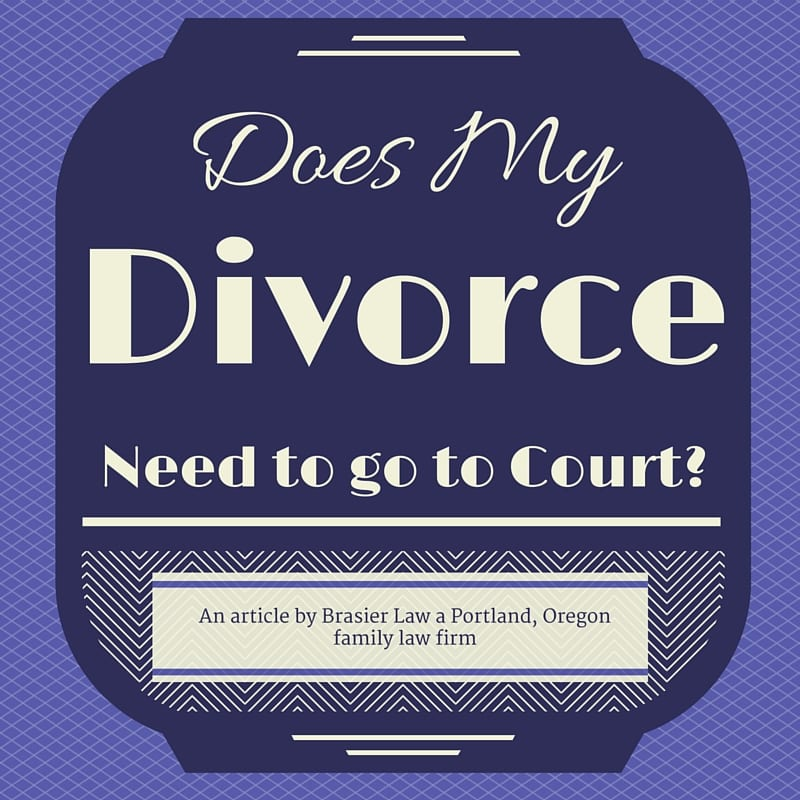 Can I Avoid Court For my Divorce or Custody Case?