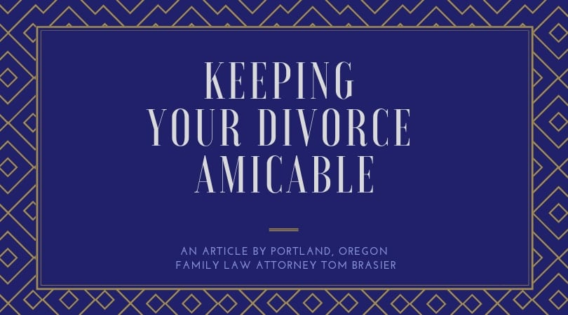 How to Keep a Divorce Amicable