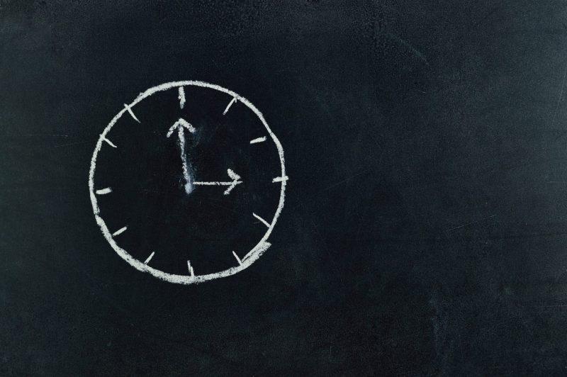 Relógio do Tempo para aulas particulares de inglês