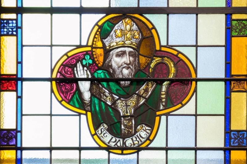 Vitral de Saint Patrick