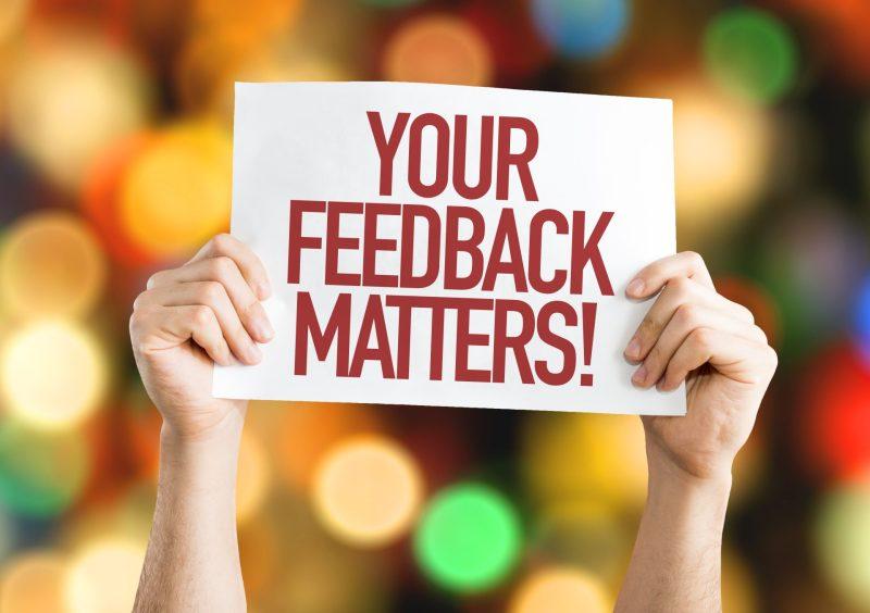 your feedback matters - usando inglês para negócios