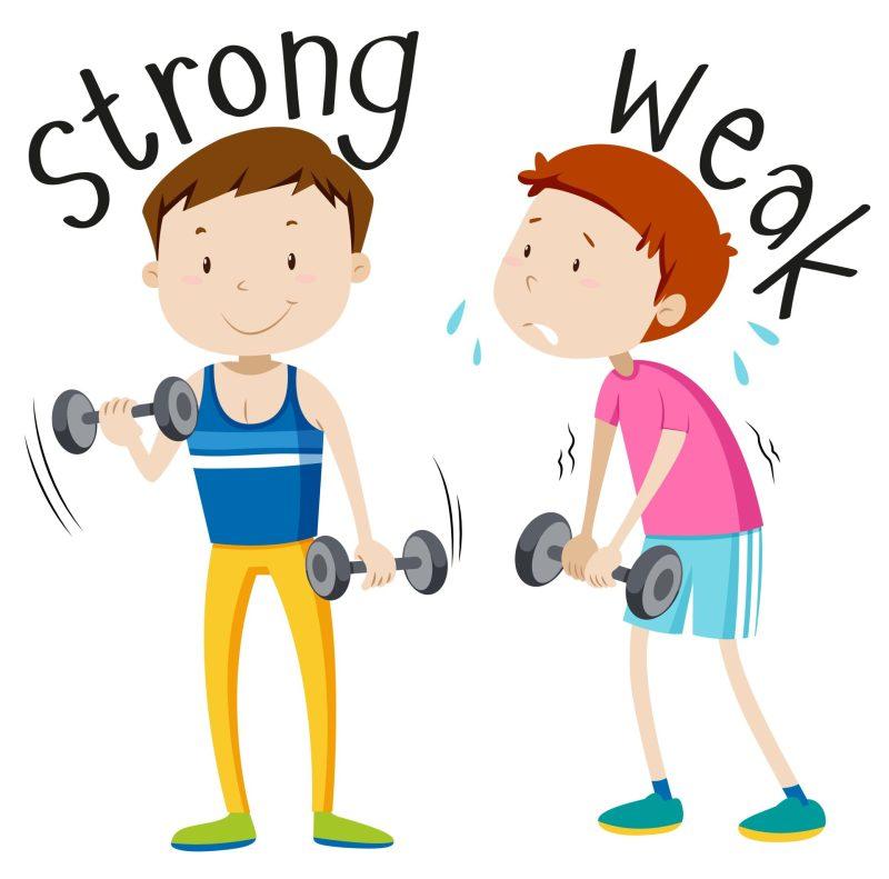 strong_weak_ adjetivos_em_ingles_cambly