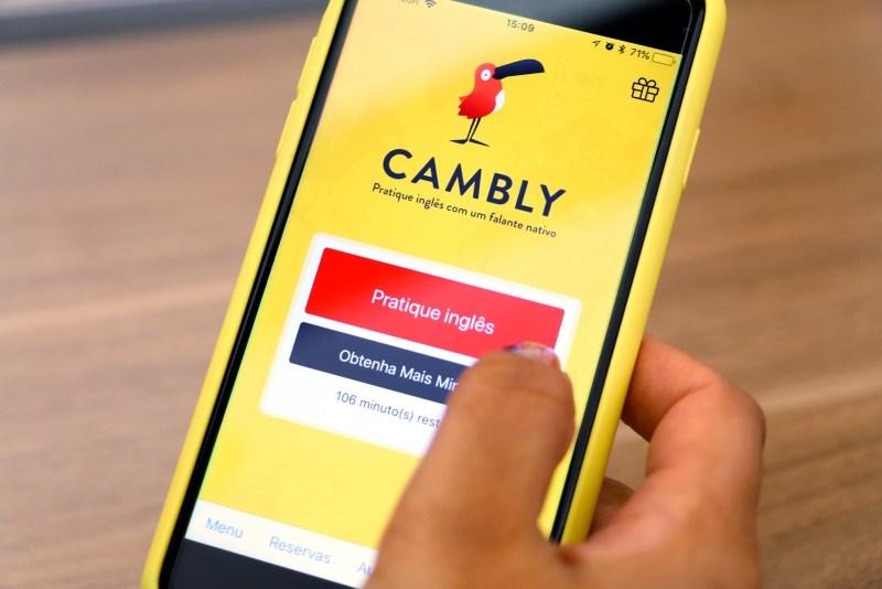 Aprender inglês com cambly