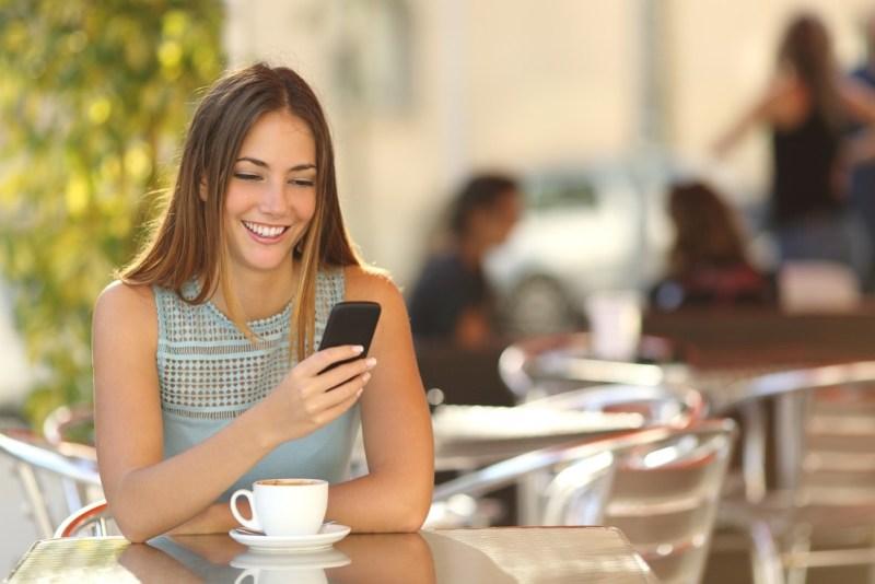 garota Ingles pelo celular com cambly