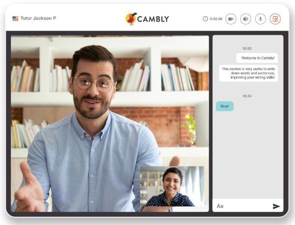 cambly aulas de ingles para empresas