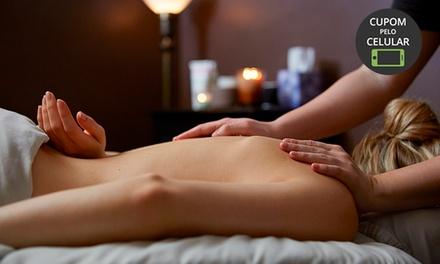 Espaço Di Valentina   Guarulhos: 1, 2 ou 3 visitas de massagem com esfoliação + banho de lua + hidratação + aromaterapia