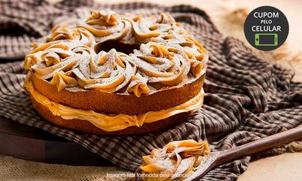 Saindo Do Forno   Vila Leopoldina: bolo simples, especial ou de churros