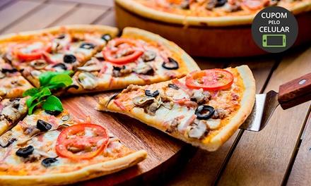 Rodízio de pizzas para 1 ou 2 pessoas na Boutique de Pães Topázio