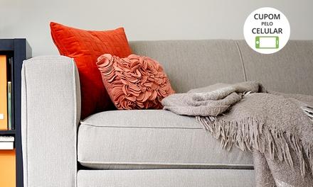 PONTS Dedetização & Serviços: higienização e lavagem a seco em sofá de até 3 ou 5 lugares