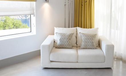 PONTS Dedetização & Serviços: higienização e lavagem a seco de sofá de até 3 ou 5 lugares