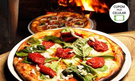 1 ou 2 pizzas grandes para retirada no local ou delivery no Nikkey PitzBurguer – Osasco