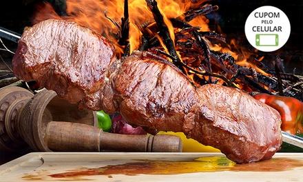Rodízio completo de carnes para 1, 2 ou 4 pessoas na Churrascaria SK Grill – Santa Quitéria