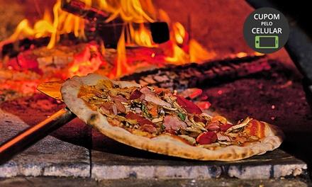 Cabana Gaúcha – Jardim Marajoara: 1 ou 2 pizzas grandes (qualquer sabor)