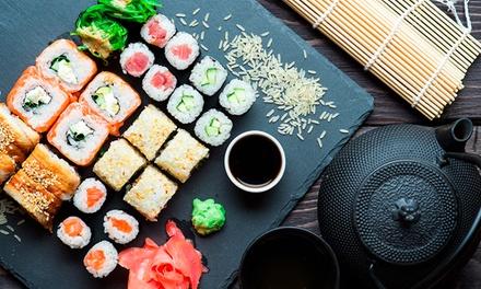 Combo G2 + porção de hot filadélfia com 43 peças no Sushizinho Fast Food – Passo da Areia