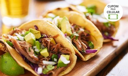 Taco (escolha 1 entre 7 sabores) + bebida para 1, 2 ou 4 pessoas na Mucho Gusto Gastronomia – Asa Norte