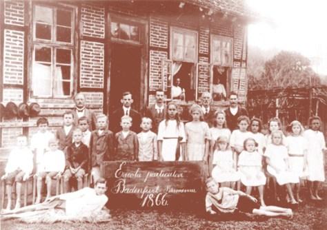 Escola Particular Badenfurt. Blumenau 1866.