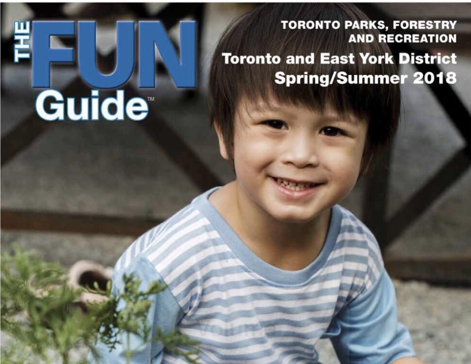 Programas da cidade de Toronto - Fun Guide