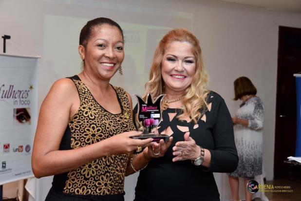 Troféu Mulher Empreendedora 2016.