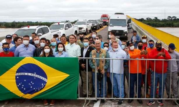 Ponte do Abunã reduzirá custo do transporte no Acre, diz Bolsonaro - BRASÍLIA AGORA