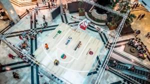 """Projeto """"Arena do Pátio"""" promoverá o basquete na praça central do shopping"""