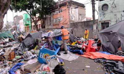 Governo de São Paulo e prefeitura fazem operação na Cracolândia