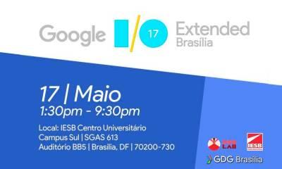Brasília receber Conferência Google I/O 2017
