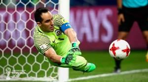 Bravo pega três pênaltis e Chile elimina Portugal da Copa das Confederações
