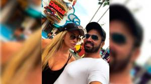 Latino curte férias na Disney com Jéssica Rodrigues