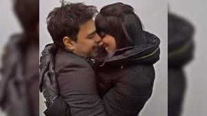 Zezé e Graciele posam juntinhos: No aconchego do teu abraço!