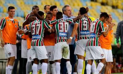 Fluminense vence o Atlético-GO, no Maraca