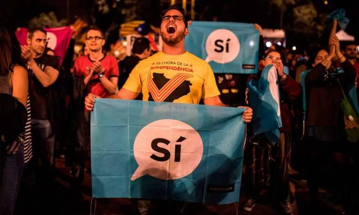 Independência da Catalunha vence referendo com 90% dos votos, diz governo catalão