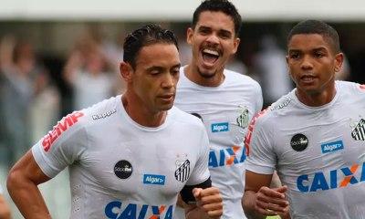Santos bate o Atlético-GO e é terceiro colocado