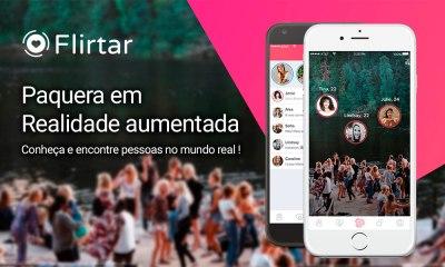 Flirtar, novo aplicativo de paquera com realidade aumentada será lançado em Brasília