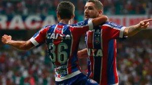 Bahia vence o Santos de virada e sonha com Libertadores