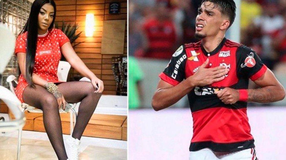 Ludmilla engata romance com jogador do Flamengo, diz jornal