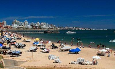 Dois brasileiros morrem afogados em praia do Uruguai