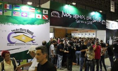 Honda, BMW, Suzuki, Harley-Davidson, Indian Motorcycle e Triumph estão confirmadas no Salão Moto Brasil 2018