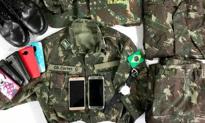 Golpista da Farda! Falso militar que furtava celulares no centro de Taguatinga é preso