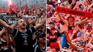 Corinthians diminui distância para o Flamengo no novo ranking digital dos clubes brasileiros