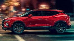 Chevrolet Blazer 2019. Foto: GM/Divulgação