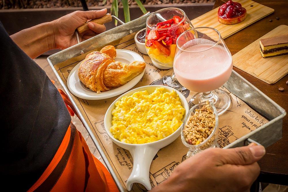 Café da Manhã Preguicinha. Foto: Davi Fernandes
