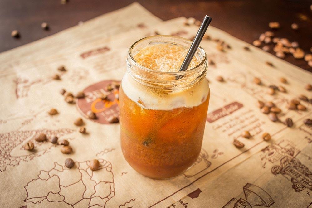 Caipirinha de café. Foto: Davi Fernandes