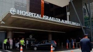 Com boa recuperação, Bolsonaro já caminha pelo corredor do hospital
