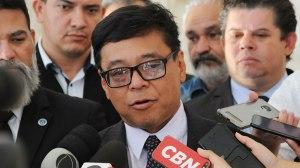 Secretário de Saúde do GDF, Osnei Okumoto. Foto: Renato Alves/GDF