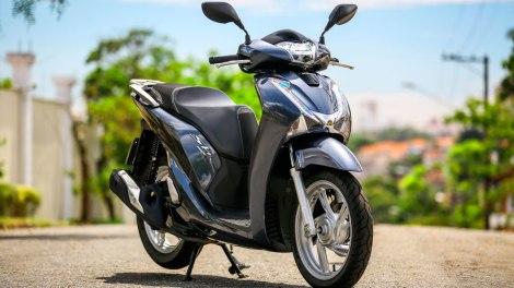 Honda SH150i. Foto: Divulgação