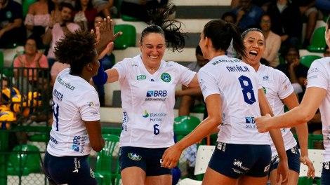 Vôlei Osasco-Audax enfrenta o BRB/Brasília no encerramento do primeiro turno da Superliga